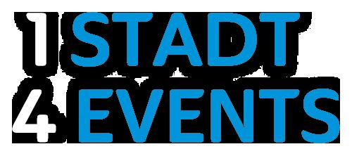 1 Stadt 4 Events